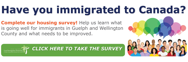 Website Housing Survey Slider
